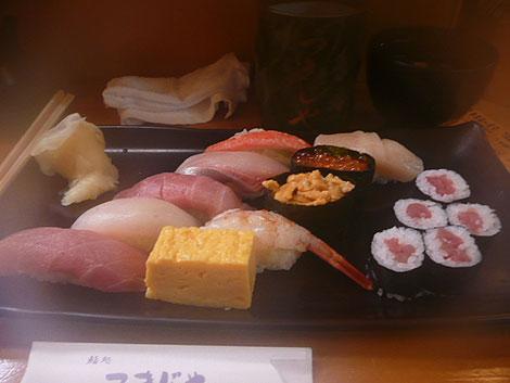 築地はお寿司屋さんが多いですねー。