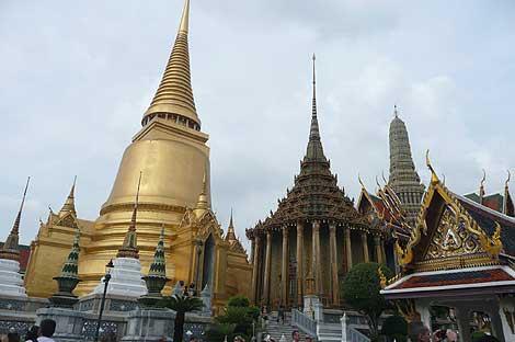 バンコクの王宮寺院