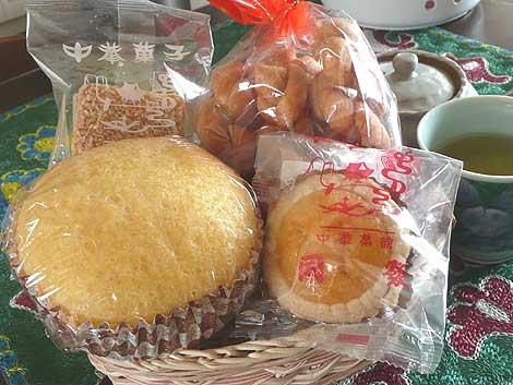 「同發」の中華菓子