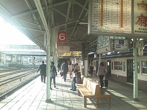 台湾鉄道を思い出す秩父鉄道駅の景色