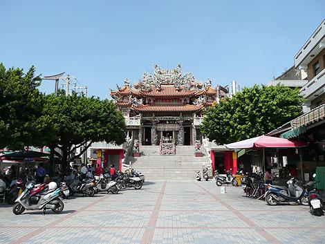 台湾・高雄左營の元帝廟