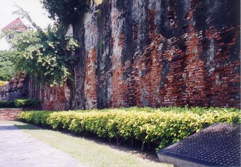 安平古堡の台湾城殘蹟
