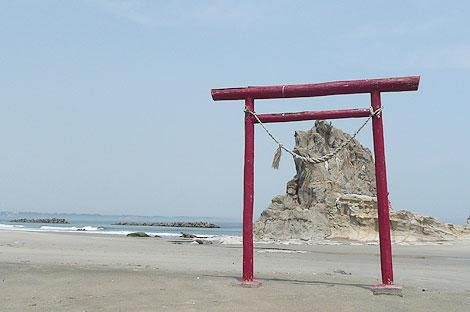 勿来海岸の代表的な風景