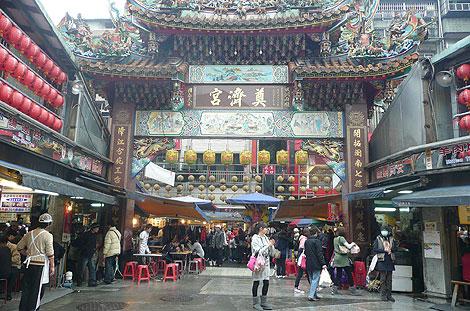 台湾・基隆の尊濟宮