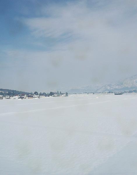 新潟県に近い豪雪地帯・只見の景色