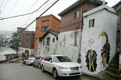 梨花洞壁画村