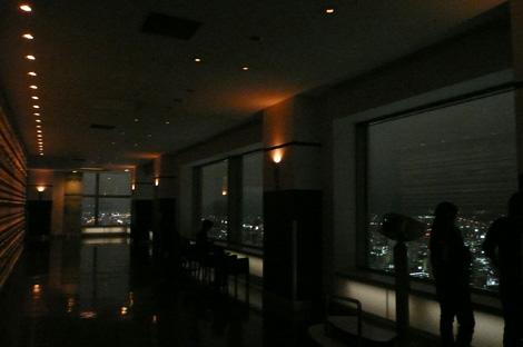 JRタワー展望室T38夜の室内