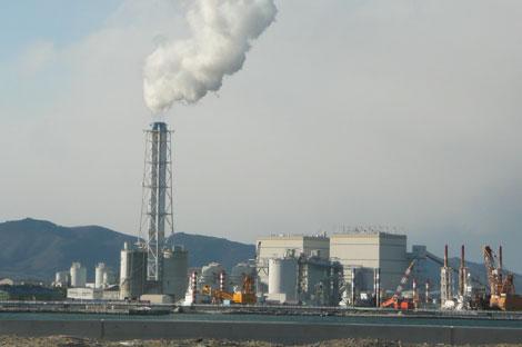 相馬共同火力(新地)発電所