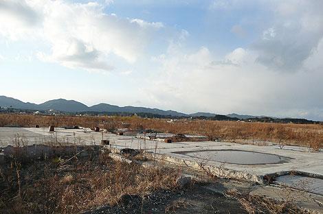 2013年3月の福島県新地町