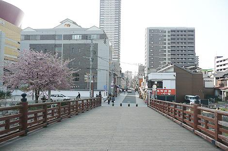 紫川の常盤橋