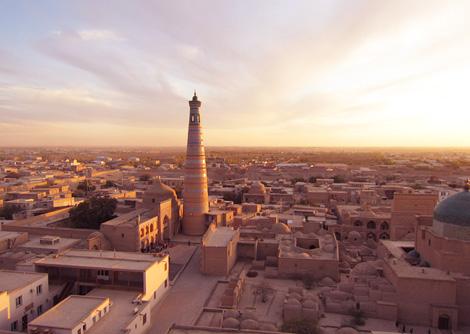 イスラムの街