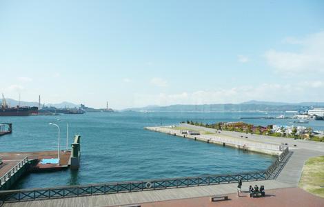 呉の港(船着き場から)