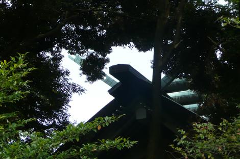 靖国神社(本殿屋根)
