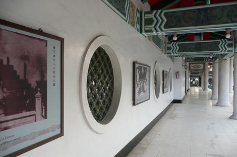 高雄市忠烈祠(壽山忠烈祠)回廊