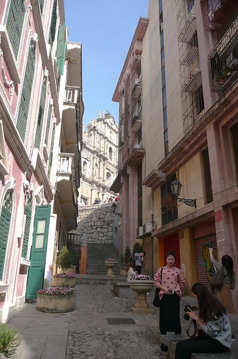 マカオの戀愛巷